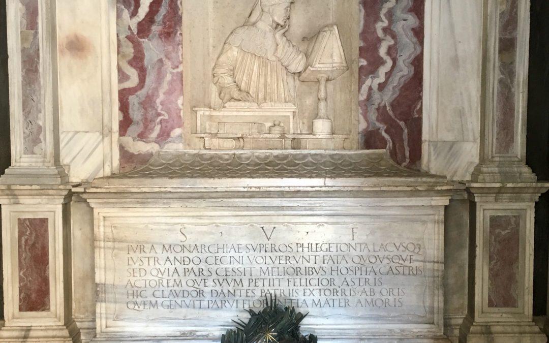 Fausses notes dans l'organisation du 700e anniversaire de la mort de Dante