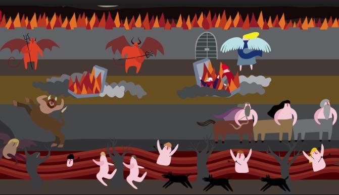 Une plongée interactive dans l'Enfer
