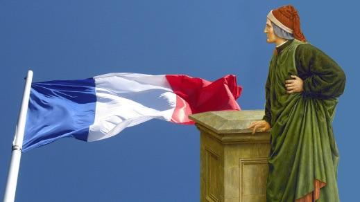 La France demande l'aide de Dante Alighieri