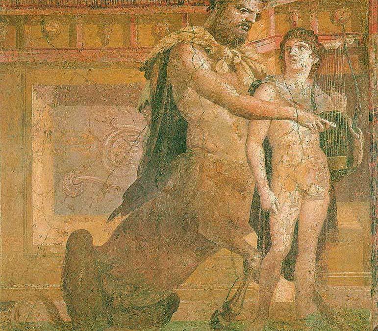Chiron-Centaure-Achille
