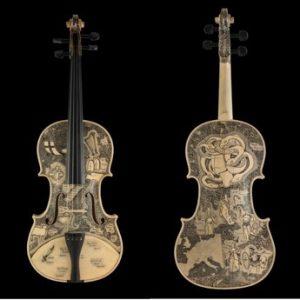 Les violons de Leonardo Frigo